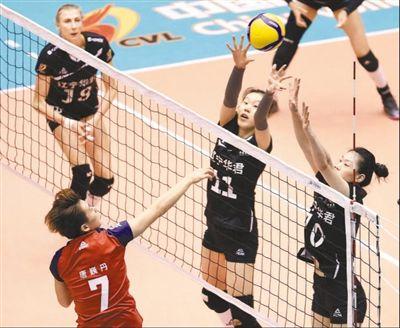 中国女排超级联赛竞争激烈:赛程缩短 精彩不减