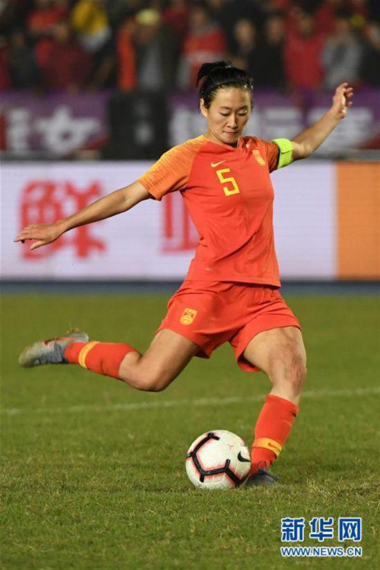 (體育)(5)足球——永川國際女足錦標賽:中國隊奪冠
