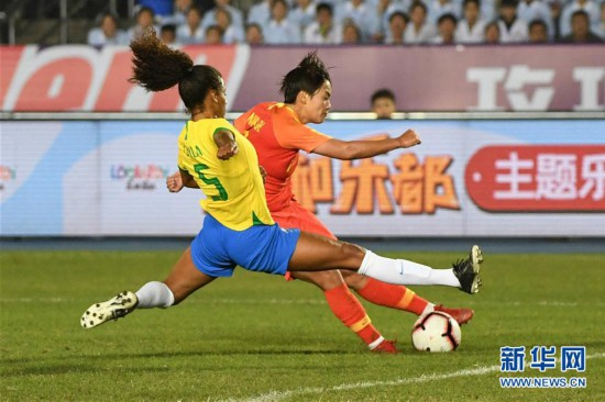(體育)(6)足球——永川國際女足錦標賽:中國隊奪冠
