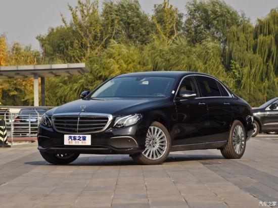 北京奔驰 奔驰E级 2020款 E 300 L 豪华型