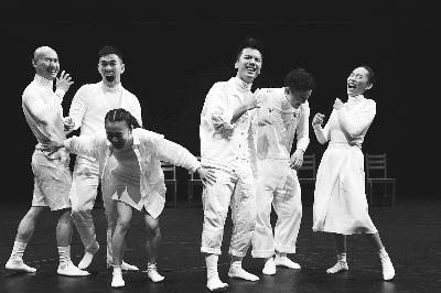 现代舞《没有大象》在北京天桥艺术中心与观众见面
