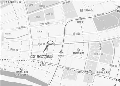 南京:河西南地价涨了,江心洲降了