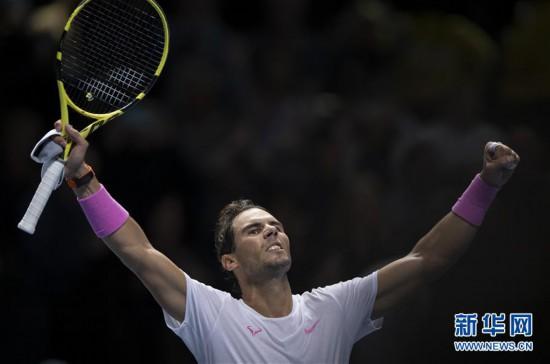 (体育)(1)网球――ATP年终总决赛:纳达尔逆转梅德韦杰夫