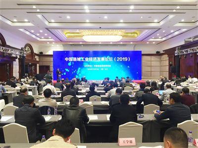 澳门金沙网上娱乐海安亮相中国县域工业经济发展论坛