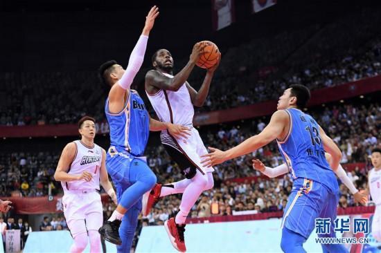 (体育)(7)篮球――CBA常规赛:深圳马可波罗胜北京首钢
