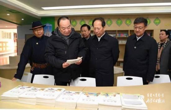黄坤明调研内蒙古:扎实深入宣传党的十九届四中全会精神