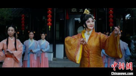 网赚qq技术师傅_广东汉剧数字电影《白门柳》在京展映