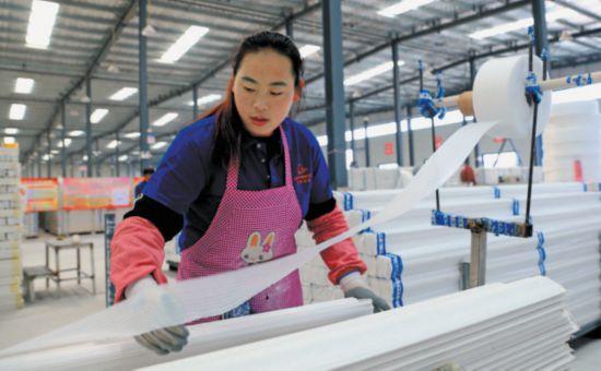 盐池石膏产业集群效应凸显
