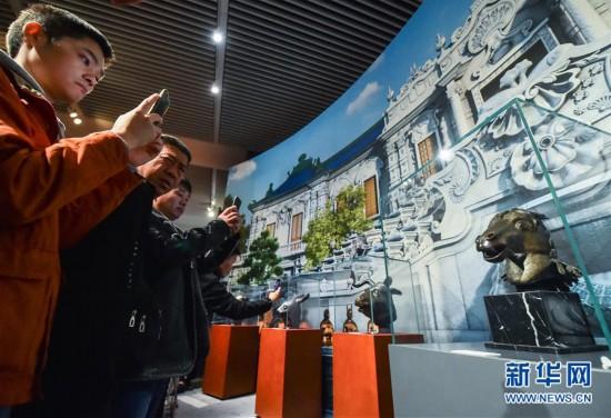 (文化)(3)圓明園馬首銅像捐贈儀式在京舉行