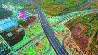新机场北线高速廊坊段将完工通车后廊坊市区20分钟到大兴机场
