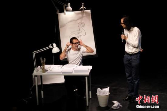 西班牙艺术家携《猫飞狗跳》登陆南京