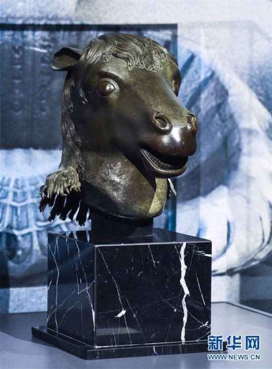 (文化)(2)圓明園馬首銅像捐贈儀式在京舉行