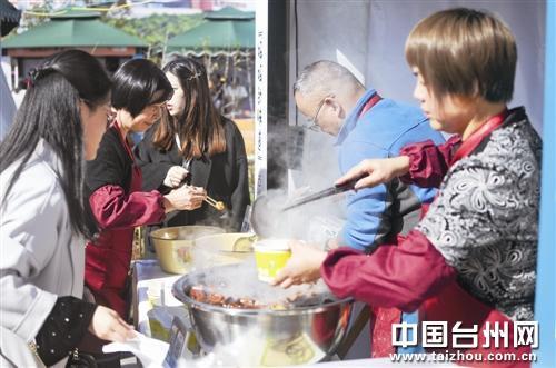 """尝尝""""妈妈的味道""""台州各地巧女同台秀美食"""