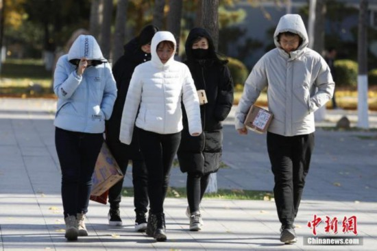 强冷空气影响中国中东部地区东北地区有强降雪