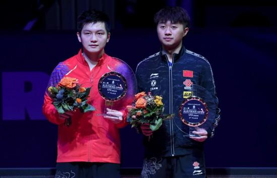 (体育)(1)乒乓球――奥地利公开赛:樊振东获男单冠军