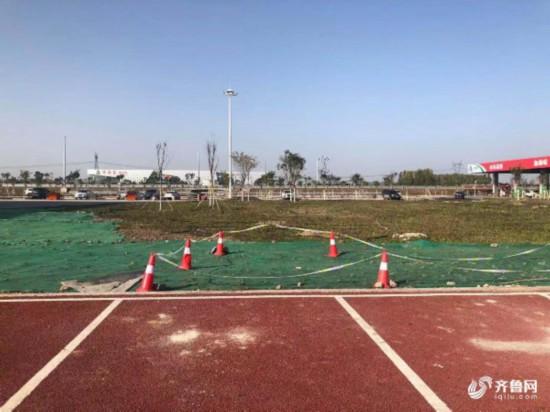 济南东服务区充电桩正式开建 预计12月底投入使用