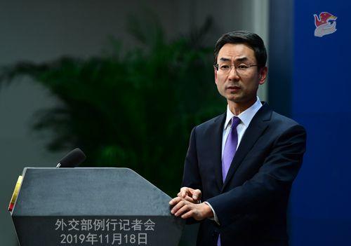 外交部回應航母通過台灣海峽:家門口例行訓練