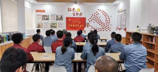 """江陰:""""紅色車間""""激發非公企業""""紅色動能"""""""
