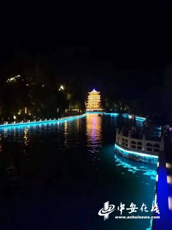 三河古鎮調整夜景燈光開放時段 靜態夜景展示延長90分鐘