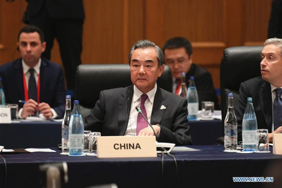 JAPAN-NAGOYA-G20-FOREIGN MINISTERS' MEETING-CHINA-WANG YI