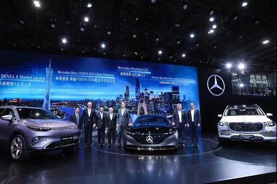 奔驰亮相广州车展:以多元化产品满足客户需求