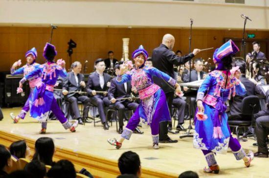 2019国家艺术院团演出季—《穿越藏?#23478;汀?#22823;型民族音乐会举办