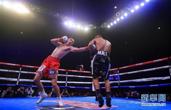 (體育)(2)拳擊——徐燦第二次衛冕金腰帶