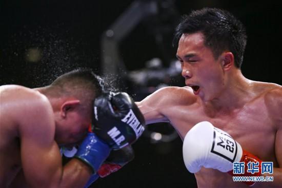 (體育)(3)拳擊——徐燦第二次衛冕金腰帶