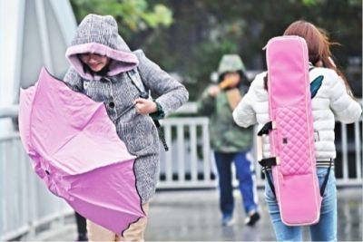 """""""一夜入冬""""武汉今天最高气温跌至9℃"""