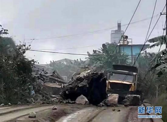 (突發事件)(1)廣西百色市靖西市5.2級地震已致1人遇難