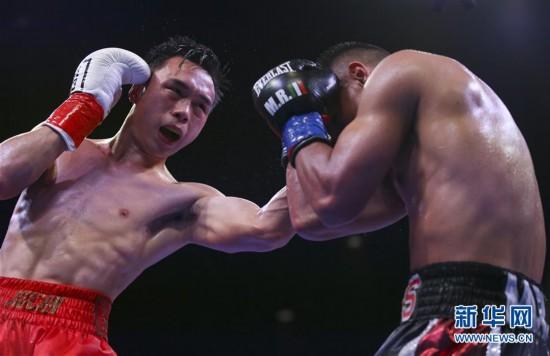 (体育)(10)拳击――徐灿第二次卫冕金腰带