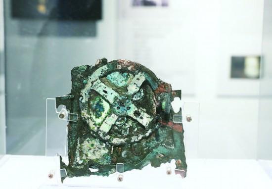安提凯希拉机械残片复制件。