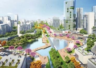中新天津生态城北部片区城市设计方案确定