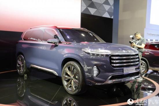 2019广州车展直击:星途全新概念车展现未来新车雏形