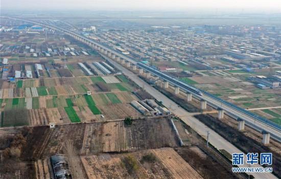 (经济)(4)沂蒙革命老区首次接入全国高铁网