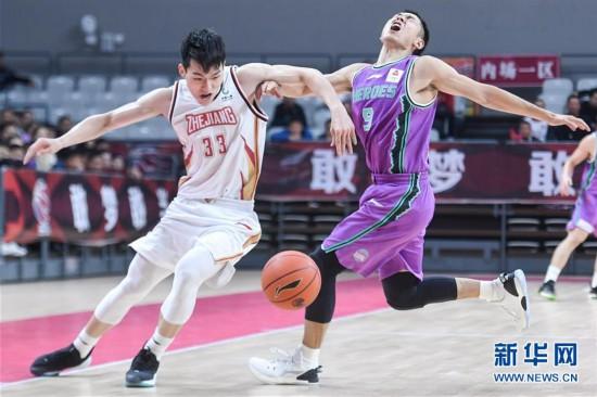 (体育)(1)篮球——CBA常规赛:浙江稠州银行胜山东西王