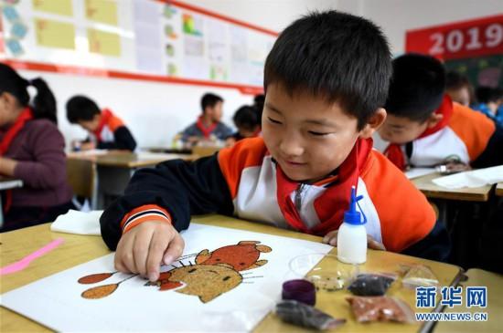 (教育)(1)河北廊坊:非遗进校园