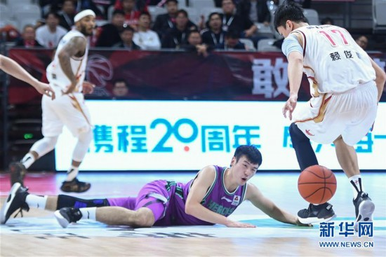 (体育)(9)篮球——CBA常规赛:浙江稠州银行胜山东西王