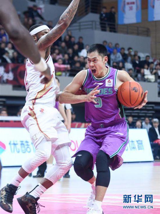 (体育)(6)篮球——CBA常规赛:浙江稠州银行胜山东西王