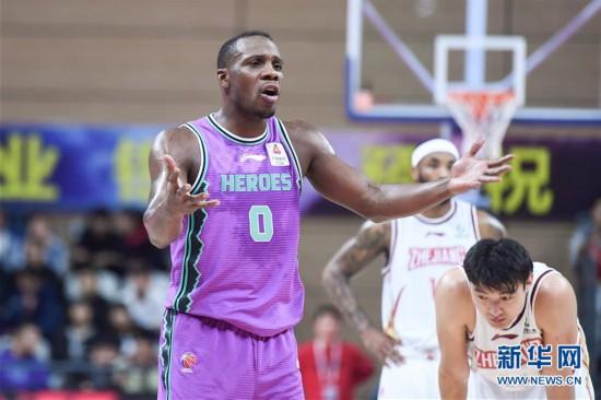 (体育)(3)篮球——CBA常规赛:浙江稠州银行胜山东西王