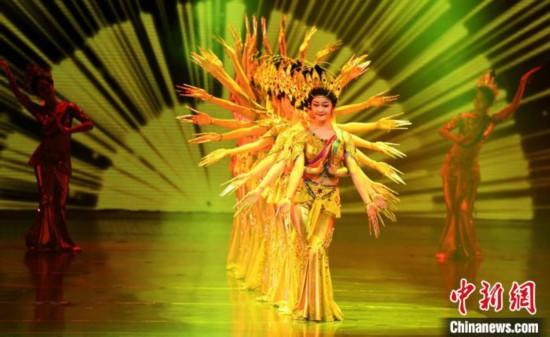 敦煌舞教学创建40年:让沉睡千年的壁画灵动飞跃