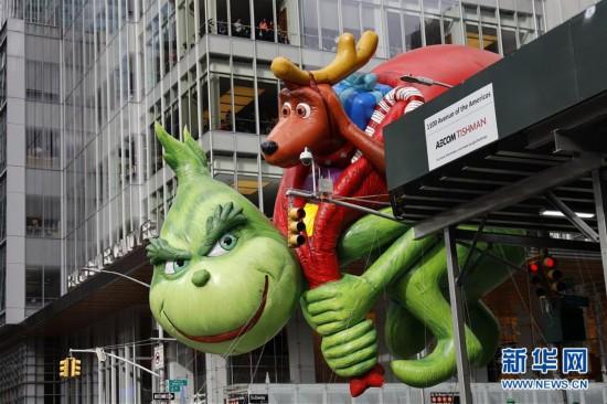 (国际)(1)纽约举行2019感恩节大游行