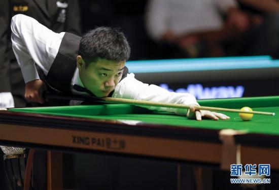 (体育)(6)斯诺克――英锦赛:丁俊晖首轮晋级