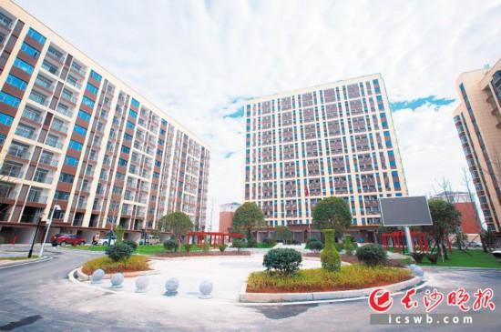 浏阳高新区人才公寓。