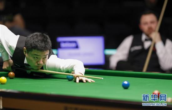 (体育)(1)斯诺克――英锦赛:丁俊晖首轮晋级