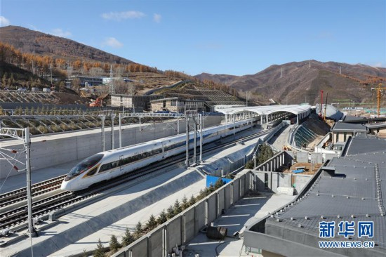 (經濟)(12)京張高鐵沿線車站即將竣工