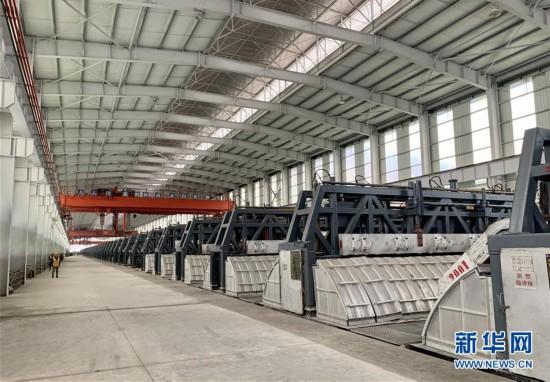 (圖文互動)中俄電解鋁清潔能源生產項目在四川建成投產