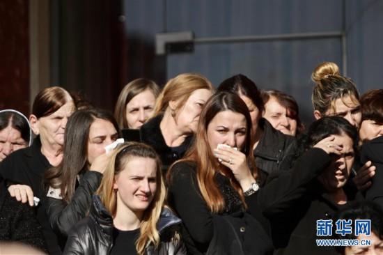(国际)(1)安微快3时时彩网站_阿尔巴尼亚为地震遇难者举行葬礼