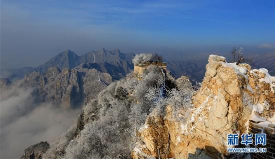 #(环境)(3)北京:长城雪景如画