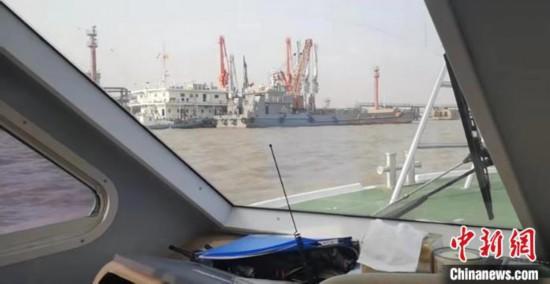 腾讯时时彩走势图软件,上海海警局连续查获两起海洋非法倾倒案件